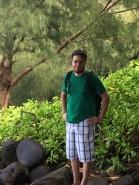 Caleb in the jungle
