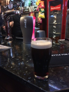 Pregame Guinness