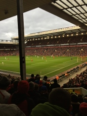 Anfield, pre-kickoff