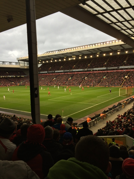 Anfield, pre-kickoff